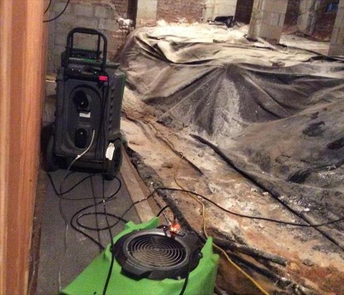 Flooded basement/Crawlspace in Greenville, SC After
