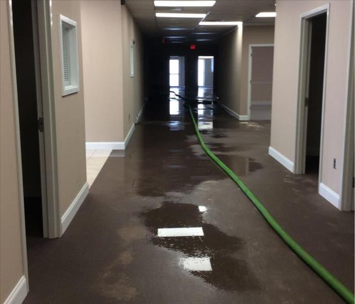 Crew responds quickly to flooded building